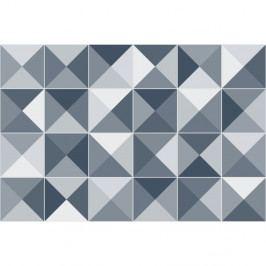 Sada 24 dekorativních samolepek na stěnu Ambiance Azulejos Shades, 20 x 20 cm