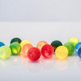 Svítící řetěz Irislights Rainbow, 35 světýlek