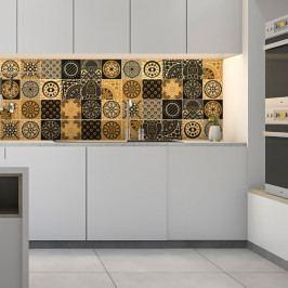 Sada 15 nástěnných samolepek Ambiance Wall Decals Azulejos Tiles San Juan, 10 x 10 cm