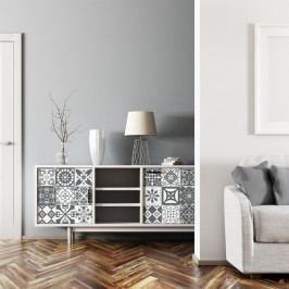 Sada 24 samolepek na nábytek Ambiance Tiles Stickers For Furniture Luncino, 20 x 20 cm