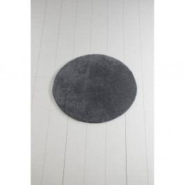 Antracitová koupelnová předložka Colors of Cap, ⌀ 90 cm