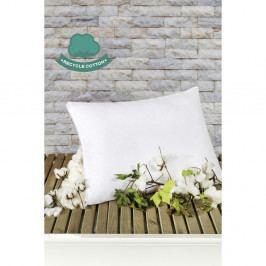 Bílý bavlněný polštář Puro Blanco Mentejo, 50 x 70 cm