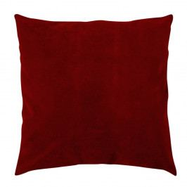 Tmavě červený polštář Ivippo, 43 x 43 cm
