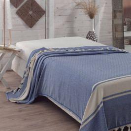 Přehoz přes postel Elmas Blue, 200x240 cm