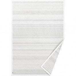 Bílý vzorovaný oboustranný koberec Narma Tsirgu, 160x100 cm