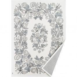 Bílo-šedý vzorovaný oboustranný koberec Narma Lihula, 200x140 cm