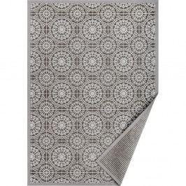 Šedý vzorovaný oboustranný koberec Narma Raadi, 300x200 cm