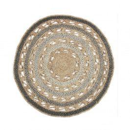Jutový kruhový koberec Eco Rugs Zizzi, Ø120cm