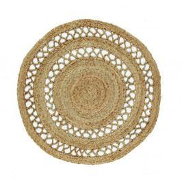 Jutový kruhový koberec Eco Rugs Asako, Ø120cm