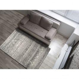 Šedý koberec Universal Hydra Grey, 140 x 200 cm