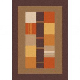 Hnědooranžový koberec Universal Boras Donno, 160x230cm