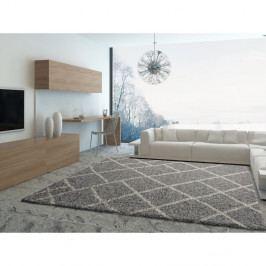 Šedý koberec Universal Kasbah Grey, 133 x 190 cm