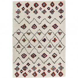 Krémovočervený koberec Mint Rugs Allure Ronno Creme, 200x290cm
