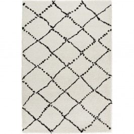 Černobílý koberec Mint Rugs Allure Ronno Black White, 200x290cm