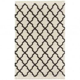 Krémovočerný koberec Mint Rugs Marino, 160x230cm