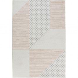 Krémovo-růžový koberec Mint Rugs Madison, 160 x 230 cm