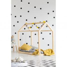 Domečková postel z borovicového dřeva Adeko Mila MN, 80x160cm