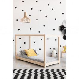 Domečková postel z borovicového dřeva Adeko Mila KM,160x190cm