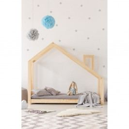 Domečková postel z borovicového dřeva Adeko Mila DMS,120x190cm