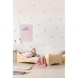 Dětská postel z borovicového dřeva Adeko Mila BOX 3, 80x160cm