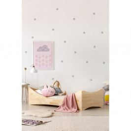 Dětská postel z borovicového dřeva Adeko Mila BOX 3,90x200cm