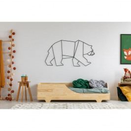 Dětská postel z borovicového dřeva Adeko Mila BOX 4,90x140cm
