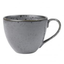 Šedý kameninový šálek na čaj Bitz Mensa, 460 ml