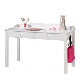 Bílý stůl Vipack Amori, délka 60 cm
