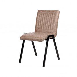 Béžová jídelní židle LABEL51 Boris
