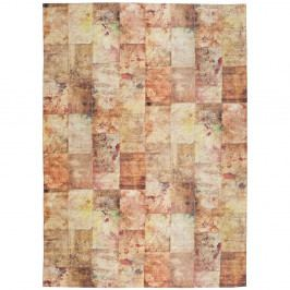 Oranžový koberec Universal Alice, 80x150cm