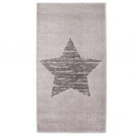 Dětský šedý koberec Nattiot Lucero, 80x150cm