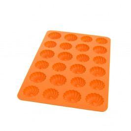 Oranžová silikonová forma na věnečky Orion Baker, 32x22cm