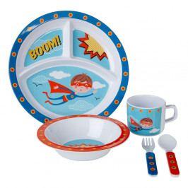 5dílný jídelní dětský set Premier Housewares Super Rupert