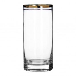 Sada 4 sklenic z ručně foukaného skla Premier Housewares Charleston, 4,75 dl
