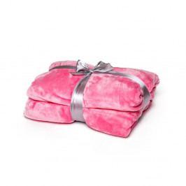 Růžová deka Tarami, 200 x 150 cm