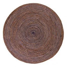 Hnědý kulatý koberec House Nordic Bombay, ø180cm