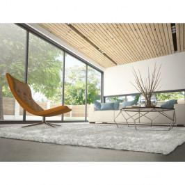 Šedokrémový koberec vhodný i na ven Universal Aloe Liso, 160 x 230 cm