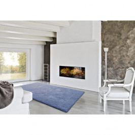 Modrý koberec vhodný i na ven Universal Catay, 57 x 110 cm