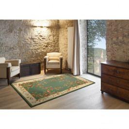 Zelený koberec vhodný i na ven Universal Madras, 57 x 110 cm