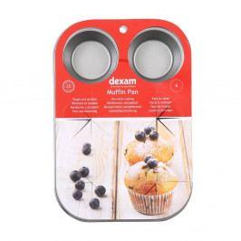 Forma na pečení 6 muffinu s nepřilnavým povrchem Dexam