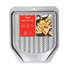 Plech na pečení hranolků s nepřilnavým povrchem Dexam Oven Chip, 39x34cm