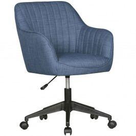 Modrá pracovní židle na kolečkách Skyport Amstyle Mara