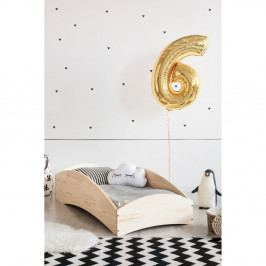 Dětská postel z borovicového dřeva Adeko BOX 6, 60x120 cm
