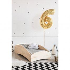 Dětská postel z borovicového dřeva Adeko BOX 6, 80x170 cm