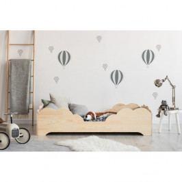 Dětská postel z borovicového dřeva Adeko BOX 10, 80x200 cm