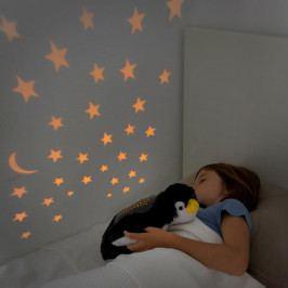 Dětský plyšový LED projektor InnovaGoods Penguin