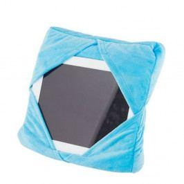 Modrý multifunkční polštář s držákem na iPad InnovaGoods
