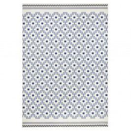 Modrobílý koberec Zala LivingCubic, 160x230cm