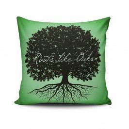 Polštář s příměsí bavlny Cushion Love Tree, 45 x 45 cm
