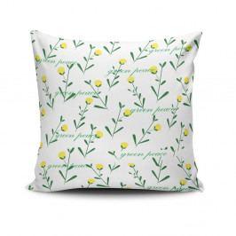 Polštář s příměsí bavlny Cushion Love Hurito, 45 x 45 cm